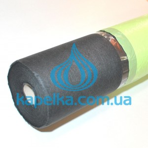 Чёрное агроволокно 42 г/кв.м от сорняков