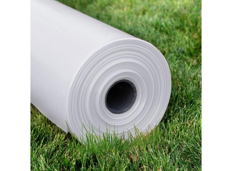 Плёнка полиэтиленовая СОЮЗ 60мк, рукав 1,5м, общая ширина 3м, длина 100м, белая, прозрачная