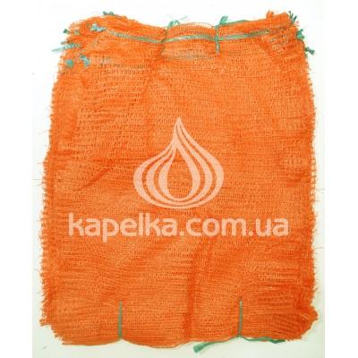 Сетка овощная 50 см * 80 см (до 40кг) оранжевая