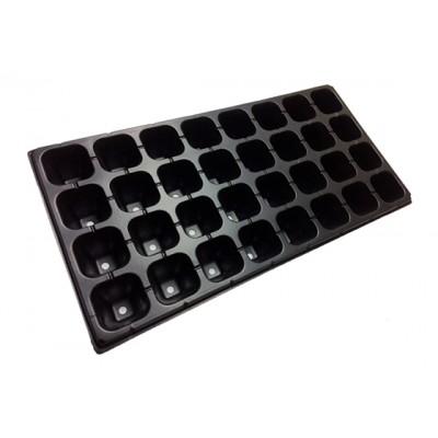 Кассета для рассады на 32 ячейки, размер: 54х28см, толщ.стенки 0,7мм